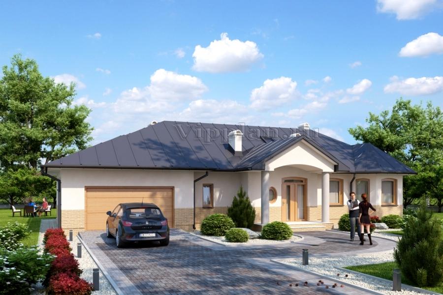одноэтажные дома проекты с гаражом и мансардой фото